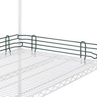 Metro L14N-4-DSG Super Erecta Smoked Glass Stackable Ledge 14 inch x 4 inch