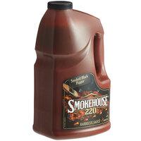 Smokehouse 220 1 Gallon Smoked Black Pepper BBQ Sauce - 2/Case