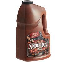 Smokehouse 220 1 Gallon Applewood Smoked Bacon BBQ Sauce - 2/Case