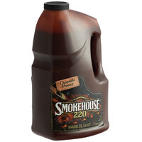 Smokehouse 220 1 Gallon Chipotle Honey BBQ Sauce - 2/Case