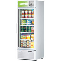 Turbo Air TGF-23SD White 27 inch Super Deluxe Glass Door Merchandising Freezer