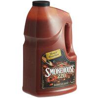 Smokehouse 220 1 Gallon Honey Bourbon BBQ Sauce - 2/Case