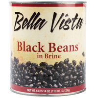 Bella Vista #10 Can Black Beans - 6/Case
