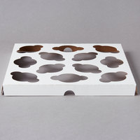 Southern Champion 10018 Cupcake / Muffin Insert - Holds 12 Mini Cupcakes - 200/Case