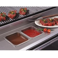 Bakers Pride 21841056 Ultimate Outdoor Charbroiler Stainless Steel Rear Work Deck