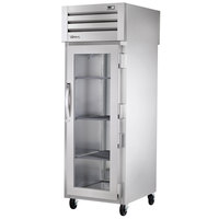 True STR1F-1G Specification Series One Section Reach In Freezer with Glass Door - 31 Cu. Ft.