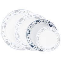 GET M-5050-B Water Lily 8 inch Melamine Plate - 12/Pack