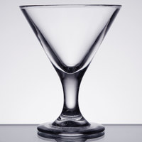 GET SW-1430 (SW1430) 3 oz. SAN Plastic Martini Glass