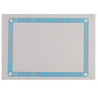 Greek Key Blue Placemat - 1000/Case