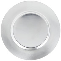 Vollrath 47656 6 inch Stainless Steel Plate - Satin Finish