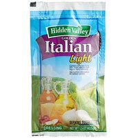 Hidden Valley 1.5 oz. Light Golden Italian Dressing Packet - 84/Case
