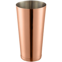 Choice 28 oz. Copper Full Size Cocktail Shaker Tin