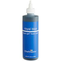 Chefmaster 10.5 oz. Royal Blue Liqua-Gel Food Coloring