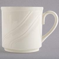 Homer Laughlin by Steelite International HL6191000 8.25 oz. Ivory (American White) China Mug - 36/Case