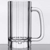 GET 00086-1-SAN-CL 16 oz. SAN Plastic Beer Mug - 24/Case