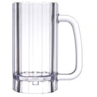 GET 00086 SAN Plastic 16 oz. Beer Mug - 24/Case
