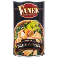 Vanee 456DC 48 oz. Can Deluxe Pulled Chicken - 6/Case