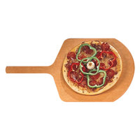 American Metalcraft MP1424 14 inch x 16 inch Pressed Pizza Peel with 9 inch Handle