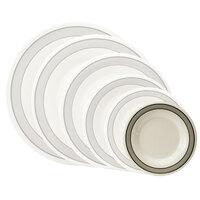 GET WP-5-CA 5 1/2 inch Diamond Cambridge Wide Rim Plate - 48/Case