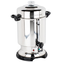 Hamilton Beach D50065 60 Cup (318 oz.) Stainless Steel Commercial Coffee Urn / Percolator - 1000W