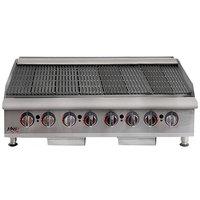 APW Wyott HCB-2448i Natural Gas 48 inch HD Cookline Radiant Charbroiler - 160,000 BTU