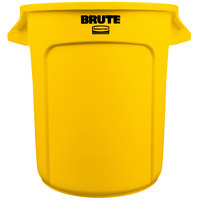 Rubbermaid FG261000YEL BRUTE Yellow 10 Gallon Trash Can