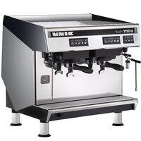 Unic Mira Twin Two Group High Profile Semi-Automatic Espresso Machine - 208V, 4700W
