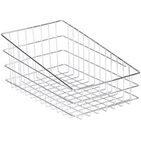 Wire Bagel Basket 11 inch x 18 1/2 inch - Slant Top