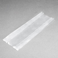 Plastic Food Bag 5 1/4 inch x 2 1/4 inch x 15 inch - 1000/Box