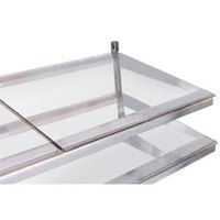 True 914824 Glass Shelf - 23 3/4 inch x 21 3/4 inch