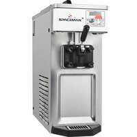 Spaceman 6210-C Countertop Soft Serve Ice Cream Machine with 1 Hopper - 110V, 1 Phase