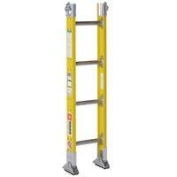 Bauer Corporation 33314 333 Series Type 1A 4' Parallel Rail Sectional Ladder Base Section with 2-Way Shoes - 300 lb. Capacity - 12 inch Wide