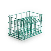 14 Compartment Catering Plate Basket for Square Salad Plates up to 9 inch - Wash, Store, Transport