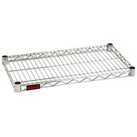 Eagle Group QA1424S Quad-Adjust® Stainless Steel NSF 14 inch x 24 inch Wire Shelf