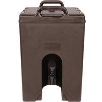 Cambro 1000LCD131 Camtainer 11.75 Gallon Dark Brown Insulated Beverage Dispenser