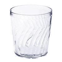 GET 2209-1-CL Tahiti 9 oz. Clear SAN Customizable Plastic Tumbler - 72/Case