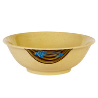 Wei 36 oz. Round Melamine Rimless Bowl - 12/Case