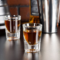 Libbey 5126 2 oz. Fluted Whiskey / Shot Glass - 12/Pack