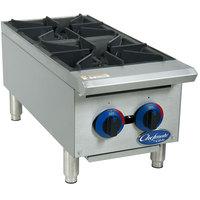 Globe C12HT Chefmate 12 inch Gas Hot Plate - 50,000 BTU