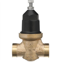 Zurn 34-NR3XL 3/4 inch Single Union Water Pressure Reducing Valve with Integral By-Pass Check Valve and Strainer