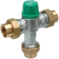 Zurn 12-ZW1070XLC Aqua-Gard 1/2 inch Thermostatic Mixing Valve with Copper Sweat Connection