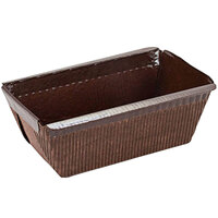 Novacart G9F10123 PM 95 6.5 oz. Brown Paper Loaf Mold - 1050/Case