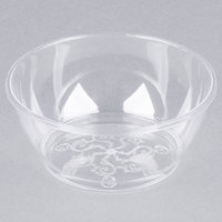 Fineline Savvi Serve 312 Clear 6 oz. Plastic Bowl - 240/Case