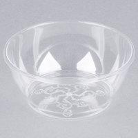 Fineline Savvi Serve 312 Clear 6 oz. Plastic Bowl - 240/Case
