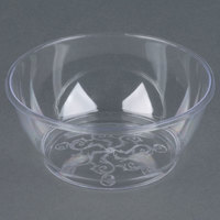 Fineline Savvi Serve 312 Clear 6 oz. Plastic Bowl - 240 / Case