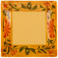 GET ML-102-VN Venetian 6 inch Square Plate - 12/Pack
