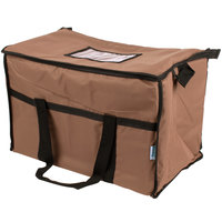 Choice Insulated Leak Proof Cooler Bag / Soft Cooler, Brown Nylon