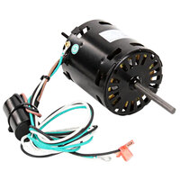 Manitowoc Ice 2412929 Fan Motor with Capacitor - 115V, 60Hz