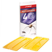 JT Eaton 844 Stick-Em Large Spider and Cricket Glue Trap   - 4/Pack