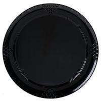 GET RP-16-BK 16 inch Black Sonoma Melamine Plate - 6/Case